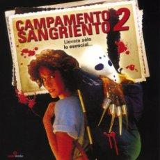 Cine: CAMPAMENTO SANGRIENTO 2 (BLU-RAY PRECINTADO) TERROR DE CULTO. Lote 279452818