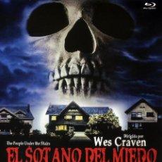 Cine: EL SOTANO DEL MIEDO (BLU-RAY BD PRECINTADO) TERROR DE CULTO WES GRAVEN. Lote 96026494