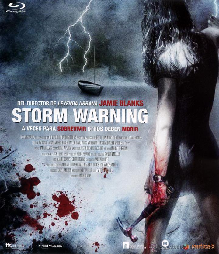 STORM WARNING (BLU-RAY-DISC BD PRECINTADO) TERROR - MIEDO - DIRECTOR JAMIE BLANKS (Cine - Películas - Blu-Ray Disc)