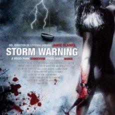 Cine: STORM WARNING (BLU-RAY-DISC BD PRECINTADO) TERROR - MIEDO - DIRECTOR JAMIE BLANKS. Lote 268893014