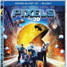 Cine: PIXELS (BD 3D ) [BLU-RAY]. Lote 116086172