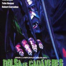 Cine: BOLSA DE CADAVERES (BODY BAGS) (BLU-RAY DISC BD PRECINTADO) TERROR DE CULTO JOHN CARPENTER. Lote 105891212