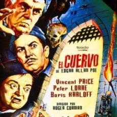 Cine: EL CUERVO (BLU-RAY DISC BD PRECINTADO) VINCENT PRICE - PETER LORRE - BORIS KARLOFF -TERROR DE CULTO. Lote 253350750