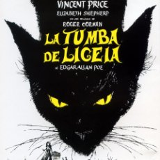 Cine: LA TUMBA DE LIGEIA (BLU-RAY DISC BD PRECINTADO) VINCENT PRICE - TERROR DE CULTO. Lote 278453383