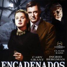 Cine: ENCADENADOS (BLU RAY DISC PRECINTADO) CARY GRANT - INGRID BERGMAN - DIRECTOR ALFRED HITCHCOCK. Lote 127484122