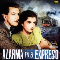 Cine: ALARMA EN EL EXPRESO (BLU-RAY DISC BD PRECINTADO) MARGARET LOCKWOOD - DIRECTOR ALFRED HITCHCOCK. Lote 86795434