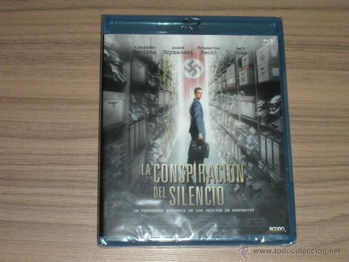 LA CONSPIRACION DEL SILENCIO BLU-RAY DISC LOS JUICIOS DE AUSCHWITZ AÑO 2014 NUEVO PRECINTADO (Cine - Películas - Blu-Ray Disc)