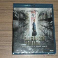 Cine: LA CONSPIRACION DEL SILENCIO BLU-RAY DISC LOS JUICIOS DE AUSCHWITZ AÑO 2014 NUEVO PRECINTADO. Lote 288485023