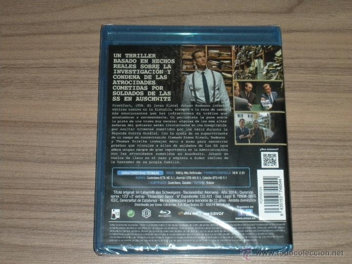 Cine: La CONSPIRACION del SILENCIO Blu-Ray Disc LOS Juicios de AUSCHWITZ Año 2014 Nuevo PRECINTADO - Foto 3 - 288485023