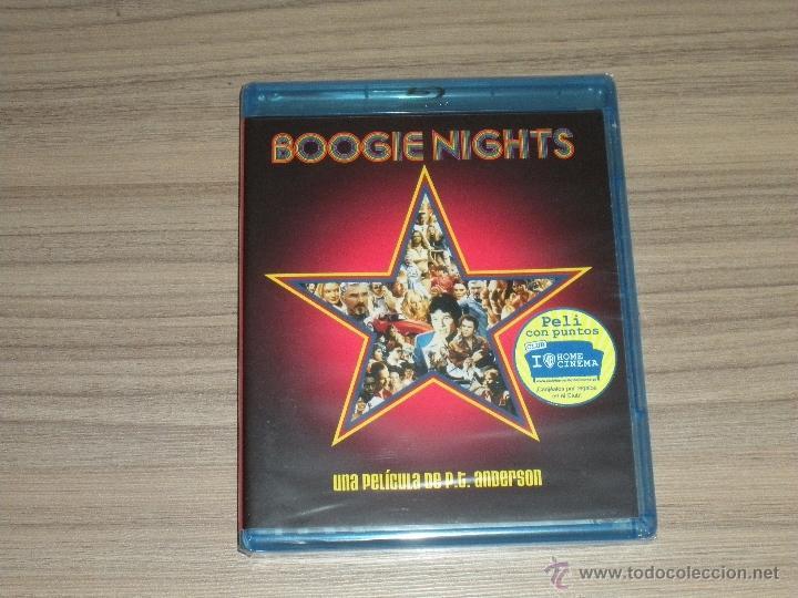 BOOGIE NIGHTS BLU-RAY DISC JULIANNE MOORE MARK WAHLBERG BURT REYNOLDS NUEVO PRECINTADO (Cine - Películas - Blu-Ray Disc)