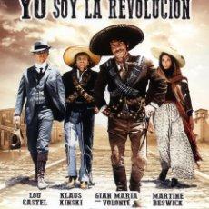 Cine: YO SOY LA REVOLUCION (BLU-RAY DISC BD PRECINTADO) GIAN MARIA VOLONTE - WESTERN. Lote 246173460