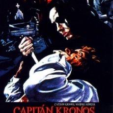 Cine: CAPITAN KRONOS CAZADOR DE VAMPIROS (BLU-RAY DISC BD PRECINTADO) HAMMER FILMS TERROR DE CULTO VAMPIRO. Lote 278453683