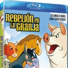 Cine: REBELION EN LA GRANJA (BLU-RAY) (ANIMAL FARM). Lote 95979576