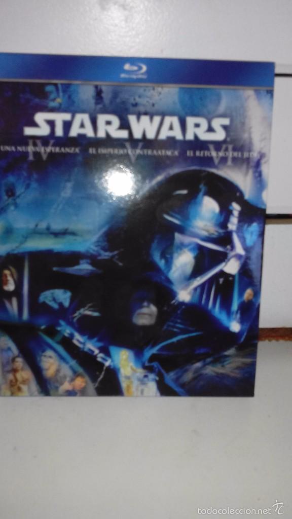 STAR WARS: LA GUERRA DE LAS GALAXIAS, EPISODIOS IV, V Y VI - PELICULAS EN BLU RAY (Cine - Películas - Blu-Ray Disc)