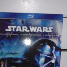 Cine: STAR WARS: LA GUERRA DE LAS GALAXIAS, EPISODIOS IV, V Y VI - PELICULAS EN BLU RAY. Lote 56594790