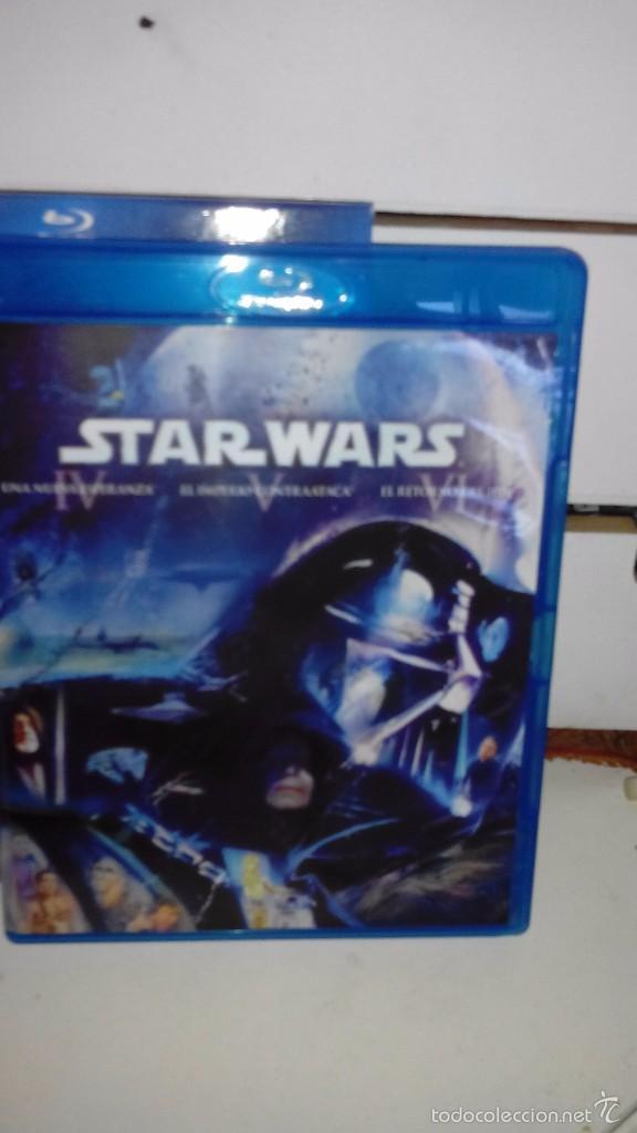 Cine: Star Wars: La guerra de las galaxias, Episodios IV, V y VI - Peliculas en blu ray - Foto 3 - 56594790