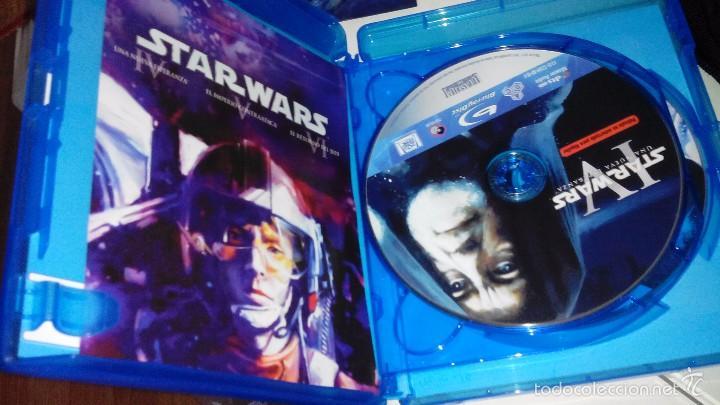 Cine: Star Wars: La guerra de las galaxias, Episodios IV, V y VI - Peliculas en blu ray - Foto 4 - 56594790