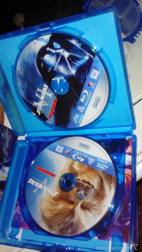 Cine: Star Wars: La guerra de las galaxias, Episodios IV, V y VI - Peliculas en blu ray - Foto 5 - 56594790