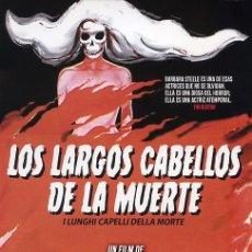 Cine: LOS LARGOS CABELLOS DE LA MUERTE (BLU-RAY DISC BD) TERROR DE CULTO DE ANTONIO MARGHERITI. Lote 184377791