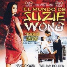 Cine: EL MUNDO DE SUZIE WONG (BLU-RAY DISC BD PRECINTADO) NANCY KWAN - WILLIAM HOLDEN. Lote 278453398