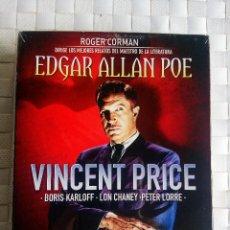 Cine: PACK EDGAR ALLAN POR POR ROGER CORMAN EN BLURAY: PENDULO DE LA MUERTE, CUERVO, PALACIO ESPIRITUS. Lote 57406493