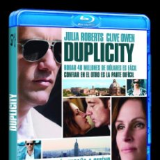 Cine: BLU-RAY DUPLICITY (JULIA ROBERTS, CLIVE OWEN). Lote 28135791