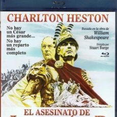 Cine: BLURAY EL ASESINATO DE JULIO CÉSAR CHARLTON HESTON . Lote 57669907