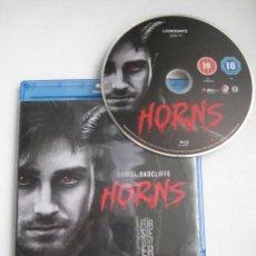 Cine: HORNS • BLU-RAY • DISCO EDICIÓN BRITÁNICA SIN CASTELLANO. Lote 57761719