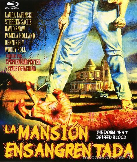 LA MANSION ENSANGRENTADA (BLU-RAY BD PRECINTADO) TERROR DE CULTO (Cine - Películas - Blu-Ray Disc)
