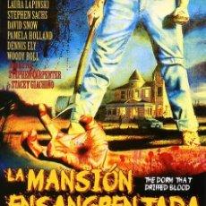 Cine: LA MANSION ENSANGRENTADA (BLU-RAY BD PRECINTADO) TERROR DE CULTO. Lote 212708988