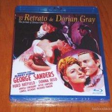 Cine: EL RETRATO DE DORIAN GRAY - ALBERT LEWIN 1945 - BLURAY DISC - PRECINTADA. Lote 58207014
