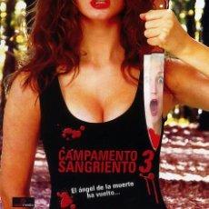 Cine: CAMPAMENTO SANGRIENTO 3 (BLU-RAY DISC BD PRECINTADO) TERROR DE CULTO. Lote 210204757