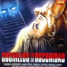 Cine: CUCHILLOS EN LA OSCURIDAD (BLU-RAY DISC BD PRECINTADO) DIRECTOR LAMBERTO BAVA - TERROR DE CULTO. Lote 195180893