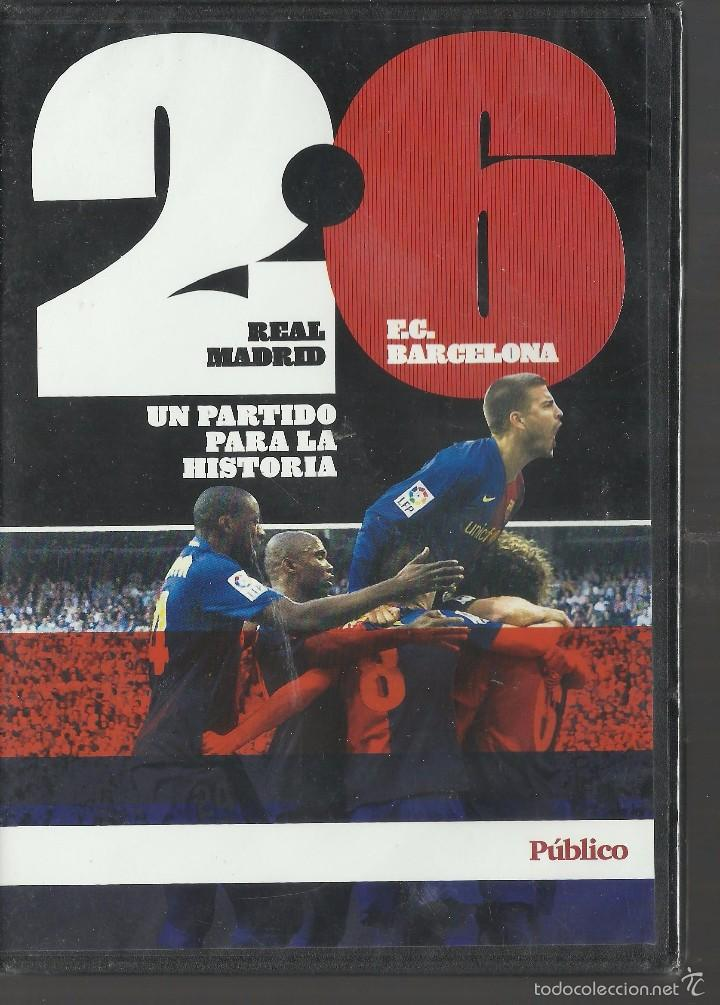 REAL MADRID Y BARCELONA 2-6. (Cine - Películas - Blu-Ray Disc)