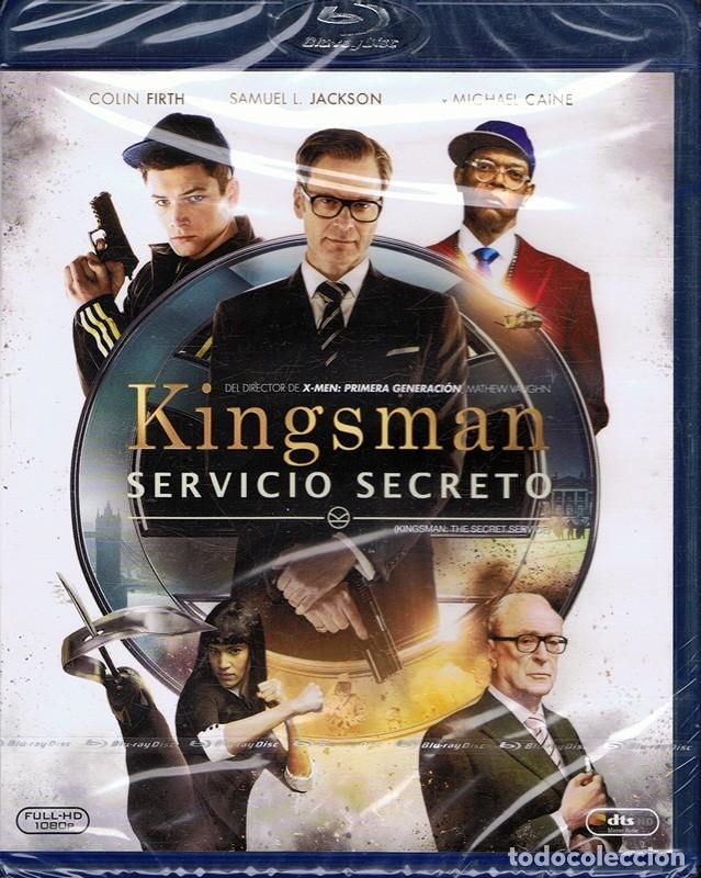 BLURAY KINGSMAN SERVICIO SECRETO (PRECINTADO) (Cine - Películas - Blu-Ray Disc)