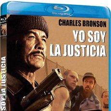 Cine: YO SOY LA JUSTICIA CHARLES BRONSON BLU RAY DISC ORIGINAL,REGALO DE YO SOY LA JUSTICIA 2. Lote 61710424