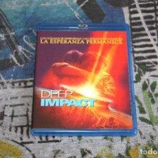 Cine: DEEP IMPACT - ROBERT DUVALL - MORGAN FREEMAN - BLUE-RAY DISC. Lote 61959240