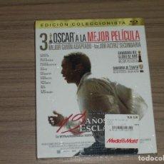 Cine: 12 AÑOS DE ESCLAVITUD EDICION COLECCIONISTA BLU-RAY DISC CHIWETEL EJIOFOR BRAD PITT NUEVO PRECINTADO. Lote 295744833