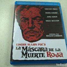 Cine: LA MASCARA DE LA MUERTE ROJA-ROGER CORMAN-BLU RAY -N.. Lote 64011839