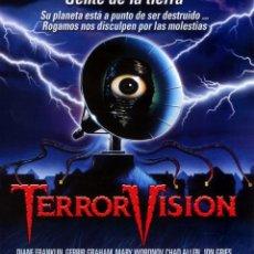Cine: TERRORVISION (BLU-RAY DISC BD PRECINTADO) TERROR. Lote 202476742