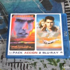 Cine: DAYS OF THUNDER & TOP GUN - TOM CRUISE - PACK ACCIÓN - BLUE-RAY DISC. Lote 64410423