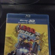 Cine: LA LEGO PELICULA 3D - BLU RAY 3D + BLU RAY. Lote 64814215