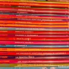 Cine: COLECCIÓN COMPLETA DVDS DIBUJOS ANIMADOS DE SIEMPRE. Lote 66128470
