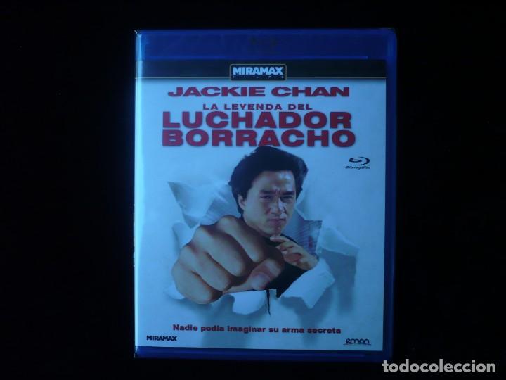 LA LEYENDA DEL LUCHADOR BORRACHO - JACKIE CHAN - NUEVO PRECINTADO (Cine - Películas - Blu-Ray Disc)