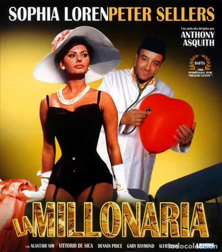 LA MILLONARIA (BLU-RAY DISC BD PRECINTADO) PETER SELLERS - SOPHIA LOREN (Cine - Películas - Blu-Ray Disc)
