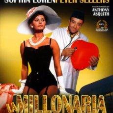 Cine: LA MILLONARIA (BLU-RAY DISC BD PRECINTADO) PETER SELLERS - SOPHIA LOREN. Lote 187446482
