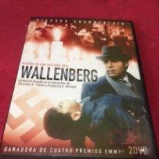 Cine: WALLENBERG , MINISERIE BASADA EN HISTORIA REAL, 2 DVD , 200 MINUTOS. Lote 71477371