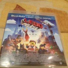 Cine: LEGO, LA PELICULA, BLU RAY + DVD. Lote 71688359