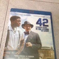 Cine: 42, LA VERDADERA HISTORIA DE UNA LEYENDA DEL DEPORTE, 128 MINUTOS , USA. Lote 71747675