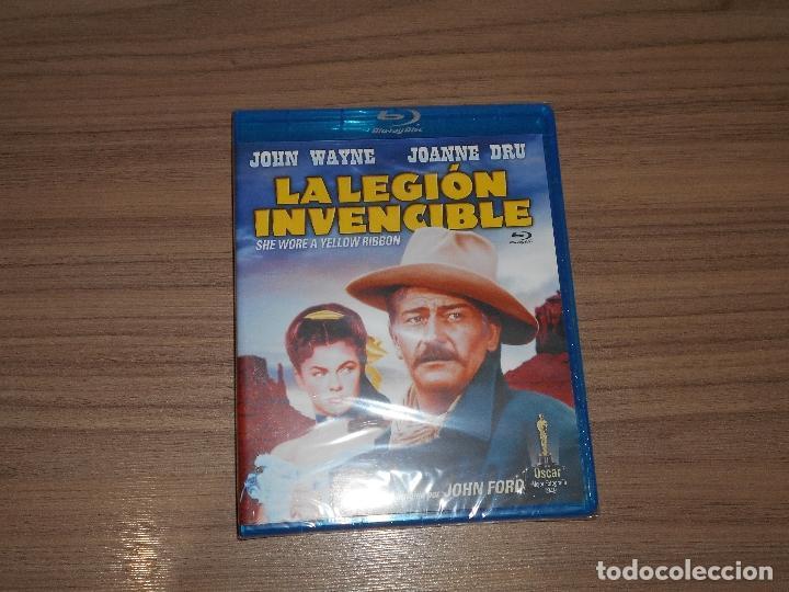 LA LEGION INVENCIBLE BLU-RAY DISC JOHN FORD JOHN WAYNE NUEVO PRECINTADO (Cine - Películas - Blu-Ray Disc)